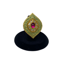 Load image into Gallery viewer, Kundan Stone Ring