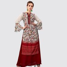 Load image into Gallery viewer, Cotton Silk Printed Long Kurti