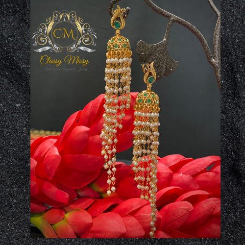 Long Earrings - Classy Missy by Gur