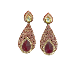 Load image into Gallery viewer, Stone Earrings