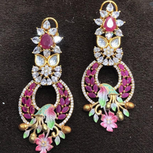 Load image into Gallery viewer, AD CZ Earrings