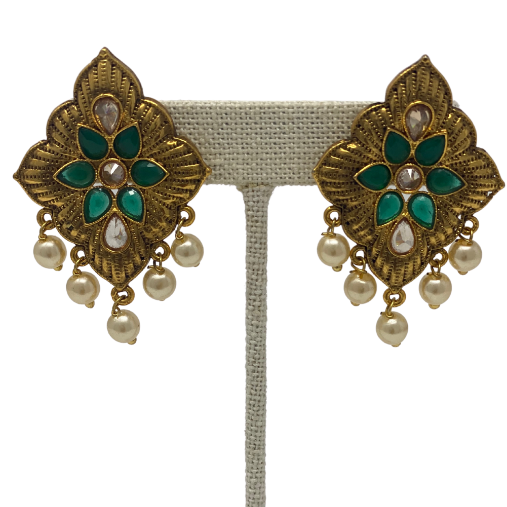 Earrings - Kundan