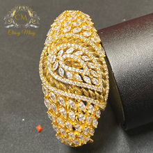 Load image into Gallery viewer, CZ - Golden Bangle kada