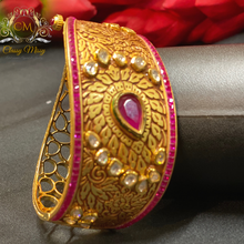 Load image into Gallery viewer, Antique Kundan Ruby Kada