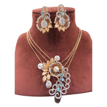 Load image into Gallery viewer, AD / CZ Necklace set