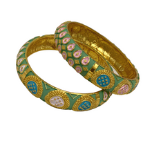 Load image into Gallery viewer, Fine Polki Bangles