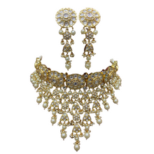 Load image into Gallery viewer, Fine Polki Kundan Necklace
