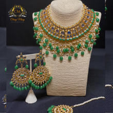 Load image into Gallery viewer, Kundan necklace set - Classy Missy by Gur