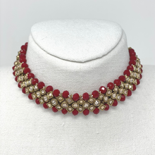 Load image into Gallery viewer, Choker with Earring and Maang Tikka