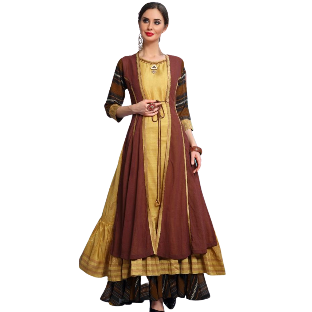 Brown Kurti - Long