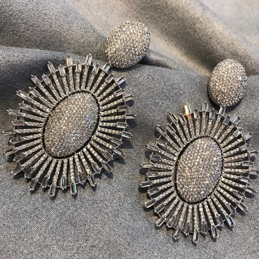 AD CZ Earrings