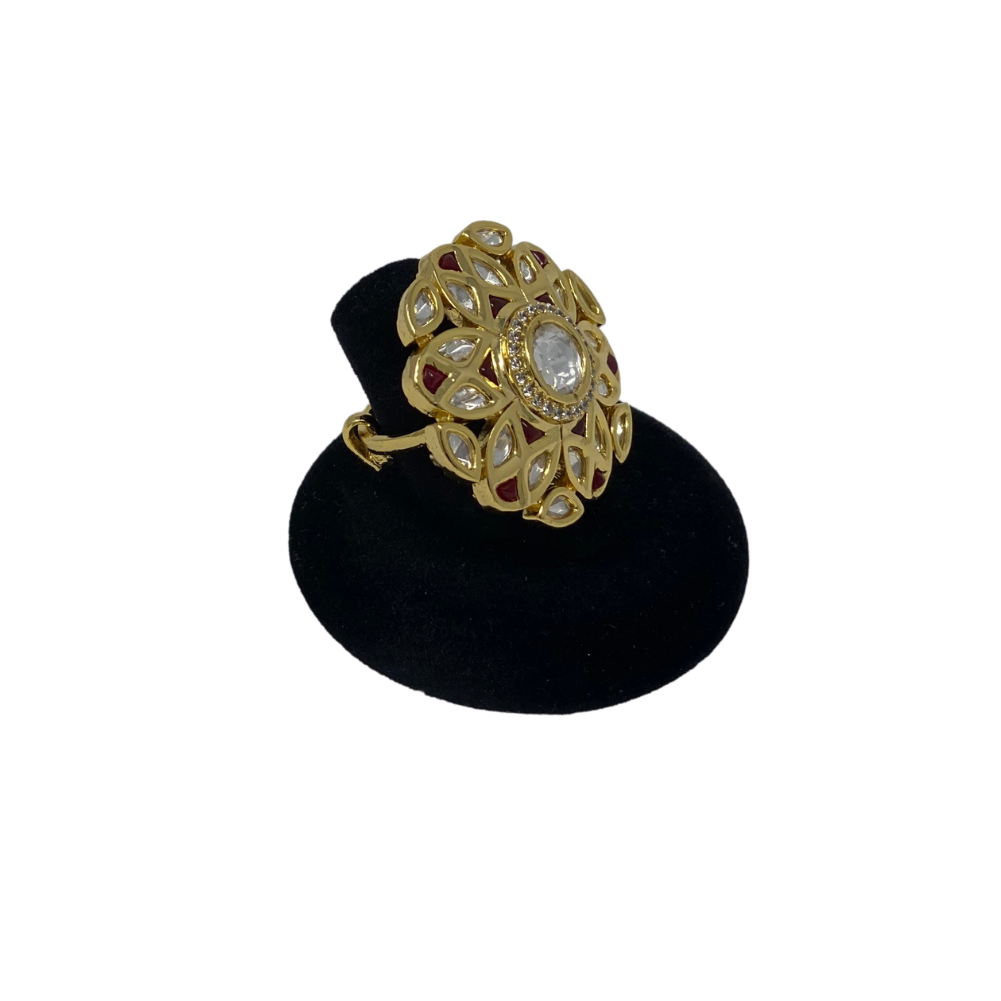 Ring - Kundan and Stone