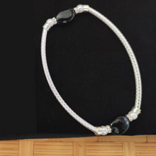 Load image into Gallery viewer, Oxidized Silver Plated Bracelet