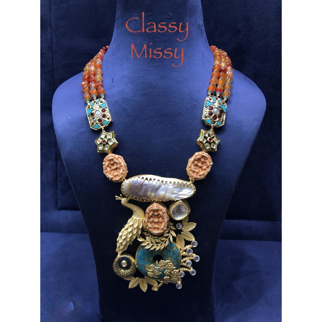 Necklace - Classy Missy by Gur