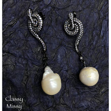 Load image into Gallery viewer, Pearl drop earrings - Classy Missy by Gur