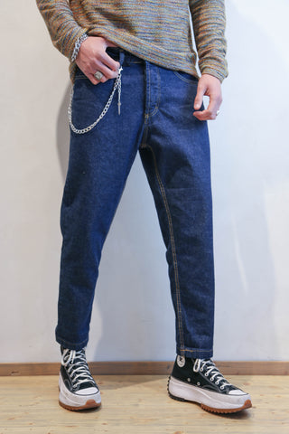 JEANS UOMO LOOSE FIT BLU