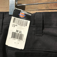 Load image into Gallery viewer, Brand New With Tags Black Dickies Trousers W36 UL