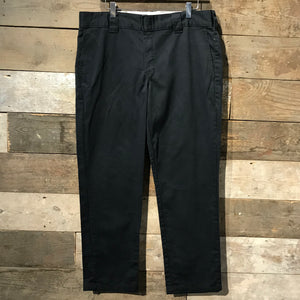 Black Slim Taper Dickies Trousers W36 L30