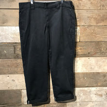 Load image into Gallery viewer, Black Slim Taper Dickies Trousers W36 L30