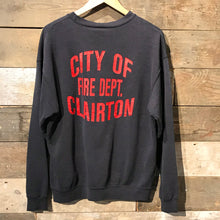 Load image into Gallery viewer, Vintage Sweatshirt. City of Clairton Fire Department. Lee Heavyweight. Size L