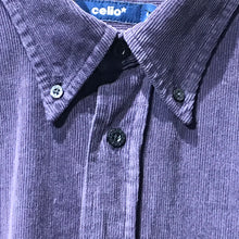 Load image into Gallery viewer, Purple Mauve Corduroy Shirt. Size L