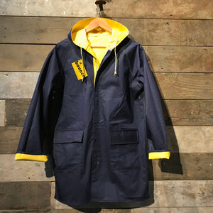 Vintage reversible Fisherman's Raincoat