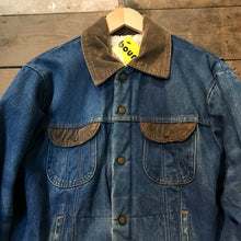 Load image into Gallery viewer, Sherpa Lined Denim Work Wear Jacket M