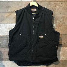 Load image into Gallery viewer, Big Smith Black Heavyweight Duck Thinsulate Workwear Gilet Size L