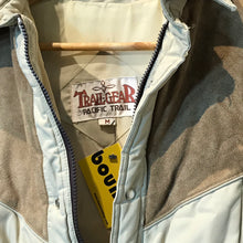 Load image into Gallery viewer, Vintage Beige Quilted Jacket by Trail-Gear Size M