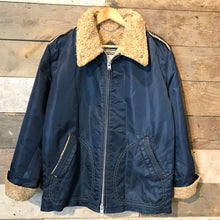 Load image into Gallery viewer, Vintage Mighty Mac Sherpa Lined Nylon Jacket Size L