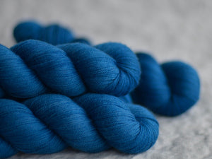 Blue bike. Fingering 80% Merino 20% Nylon (4334320484386)