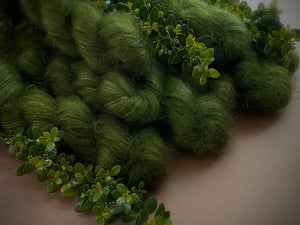 Greenstone. Lace Superfine Kid Mohair and Silk