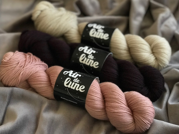 Brooklyn, Soho, Eggplant. 3 skeins kit. (4326484049954)