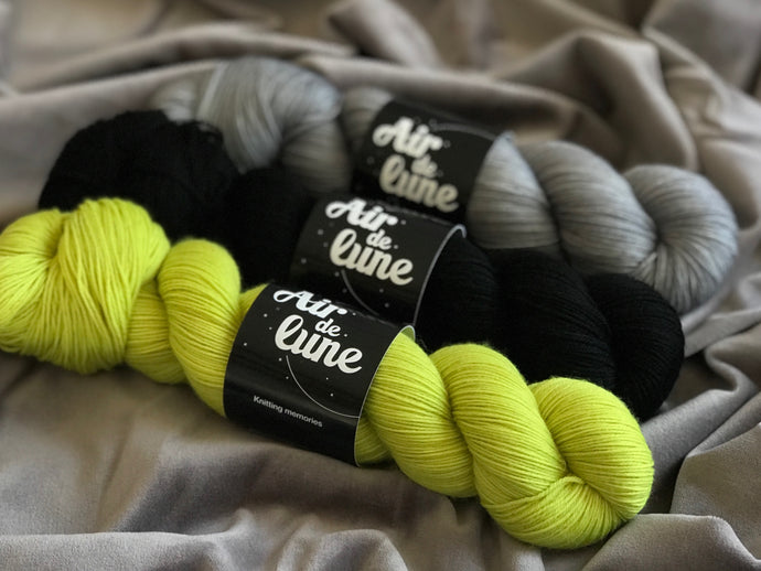 Anis, Karasugoi, Pyrite. 3 skeins kit. (4326485753890)