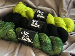 Ulva, Karasugoi, Sage and crazy. 3 skeins kit. (4326532022306)