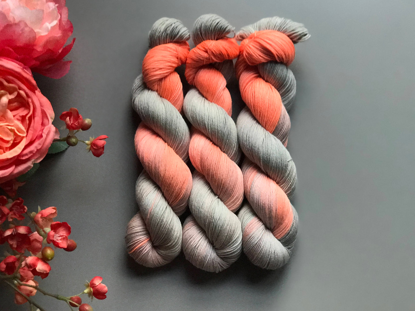Sweet summer.  Fingering 100% Merino SW (4309696118818)