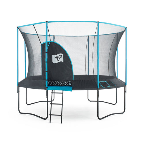 TRAMP SALE - TP212 - 12 Ft Genius Deluxe Trampoline & Accessories - NOW IN STOCK