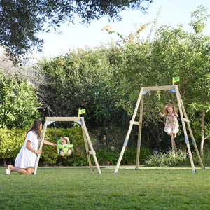 TP331 Forest Acorn Growable Wooden Swing Set - Sorry Sold Out!