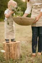 Load image into Gallery viewer, Heirloomed Linen Child Apron