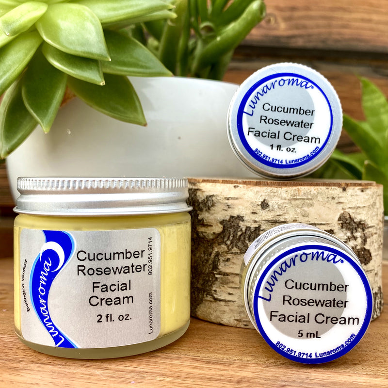 Cucumber Rosewater Facial Cream