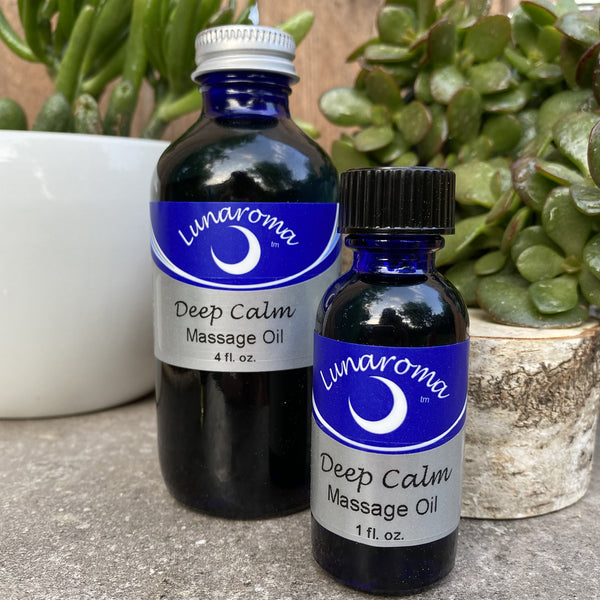Deep Calm Massage Oil