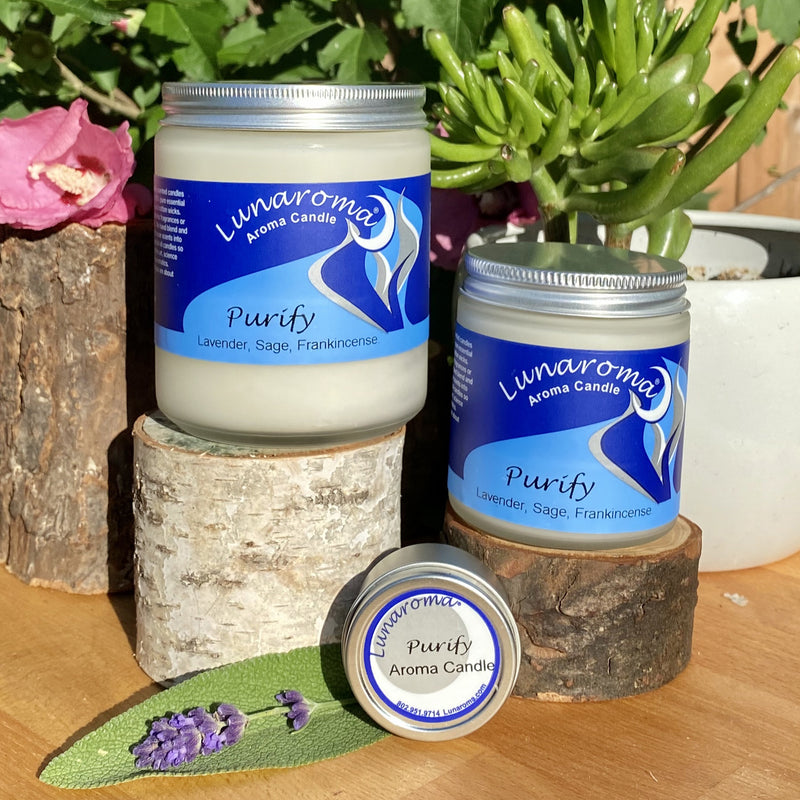Purify Aroma Candle