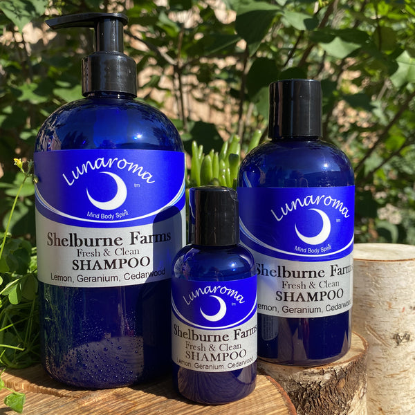 Shelburne Farms Lemon Geranium Cedarwood Shampoo