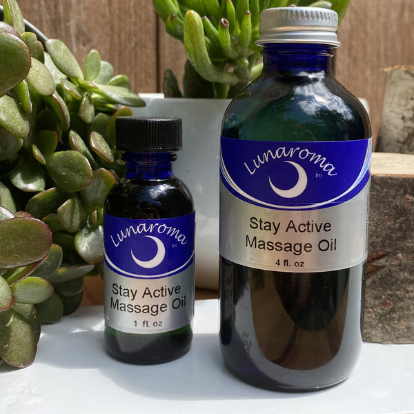 Stay Active Massage Oil