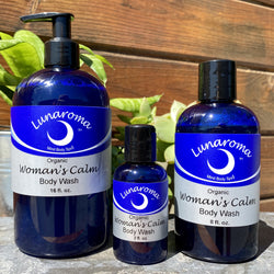 Woman's Calm Organic Body Wash