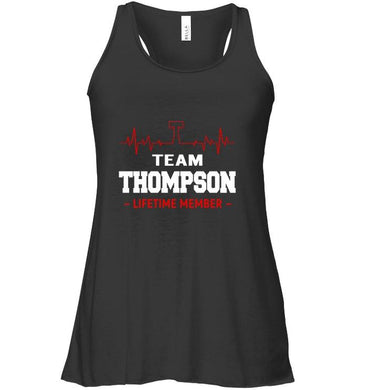 Team Thompson Lifetime Member Ladies Flowy Tank