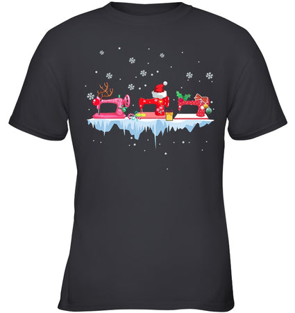Winter Quilting Christmas Gift Youth Tee
