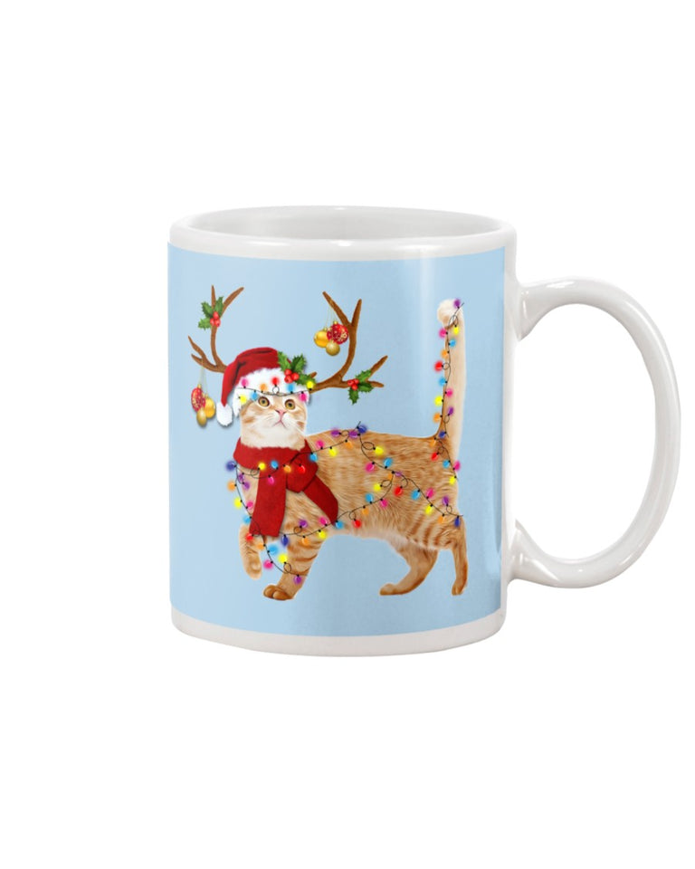 Cat Gorgeous Reindeer Christmas Gift Cute Mug
