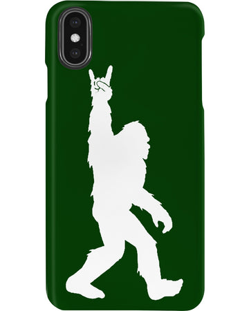 Bigfoot Victory Sign Funny Phone case