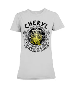 Cheryl The Soul Of A Mermaid Quote Name Sweater Ladies Tee